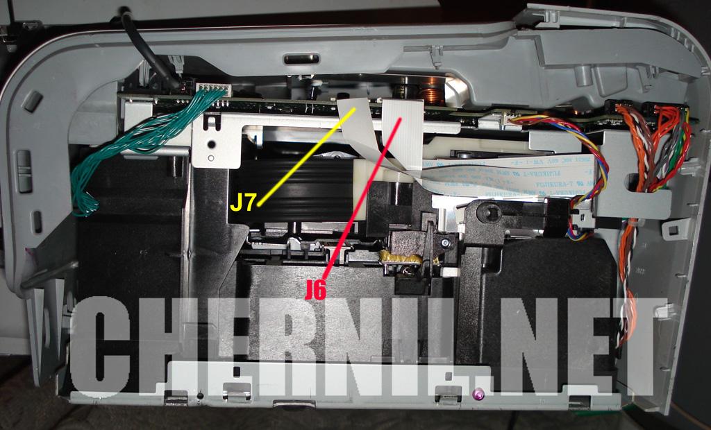 как обнулить картридж hp laserjet mfp 177
