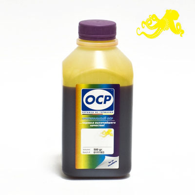 Чернила OCP Y 512 (Yellow) для BROTHER, 500 г